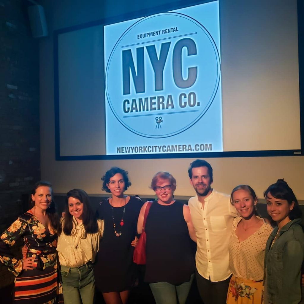 Crew and Cast at the Brooklyn Film Festival